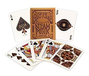Bicycle Playing Cards Steam Punk