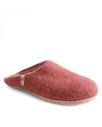 egos slipper rusty red