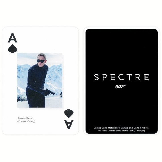 007 Spectre Playing Cards
