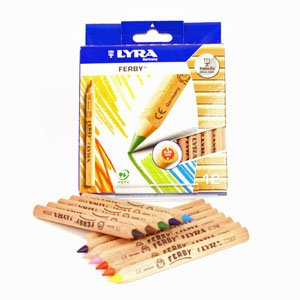 Lyra Ferby Un-Lacquered Pencils - Set of 12ls