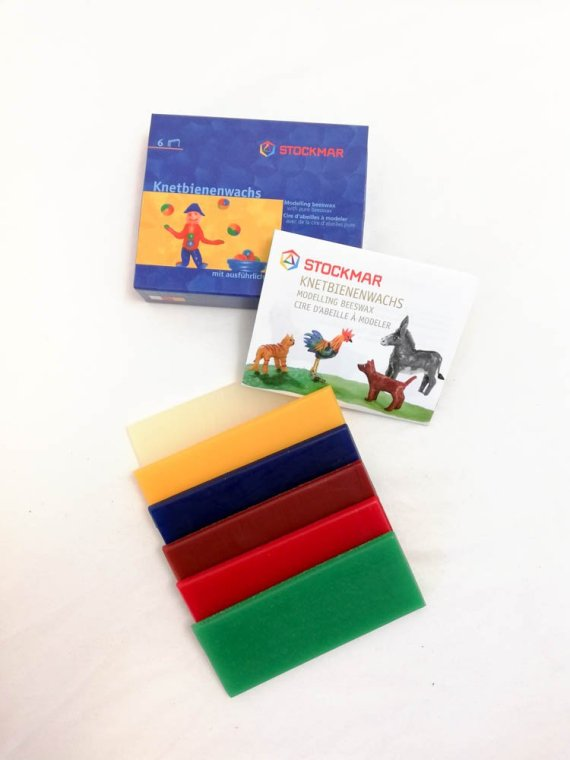 Stockmar Modelling Beeswax 6 Colour Set