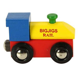 Name Train Engine by Bigjigs