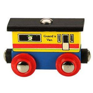 Name Train Guards Van by Bigjigs