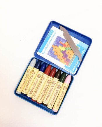 Stockmar Crayon Sticks Set of 8- Supplementary assortment