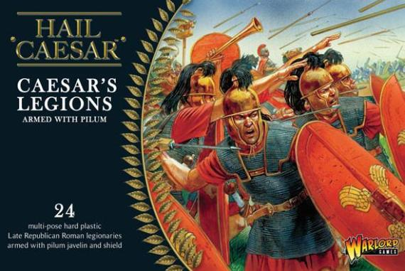 Hail Caesar -Caesar's Legions Armed With Pilum