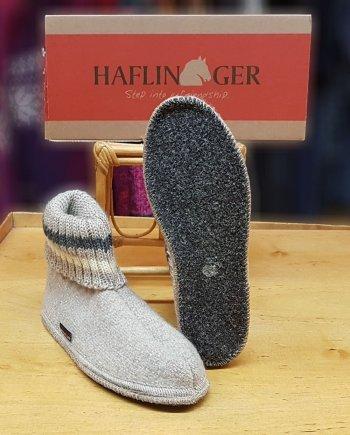 Haflinger Slipper Boot Paul Beige Haflinger Slipper Boot Paul Beige