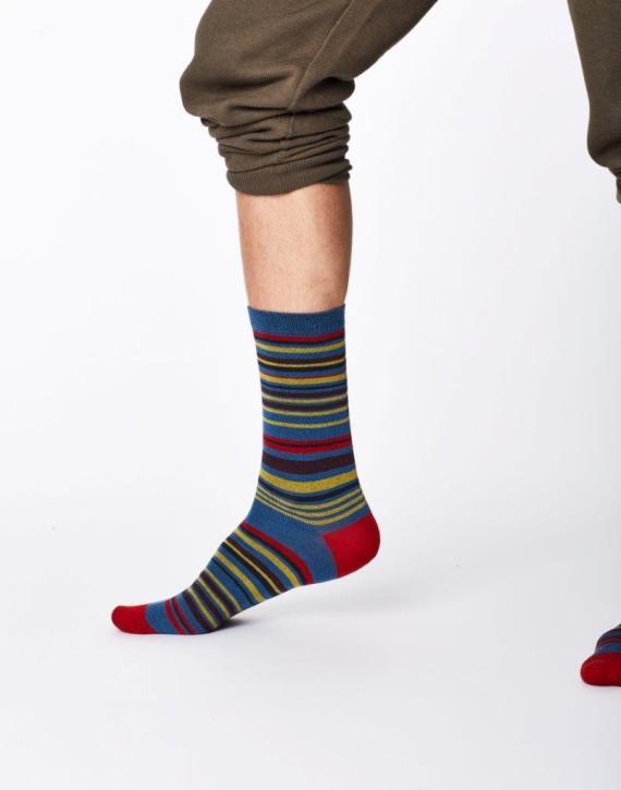 Thought Marshland Sock Blue
