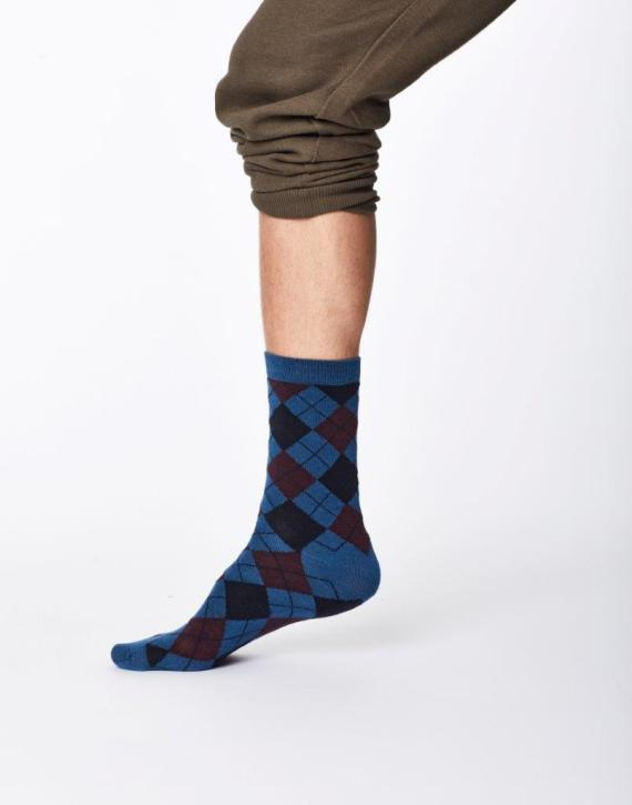 Thought Mckinnon Sock Blue