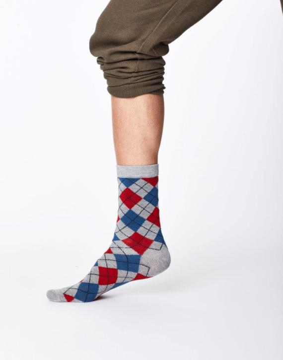 Thought Mckinnon Sock Mid Grey