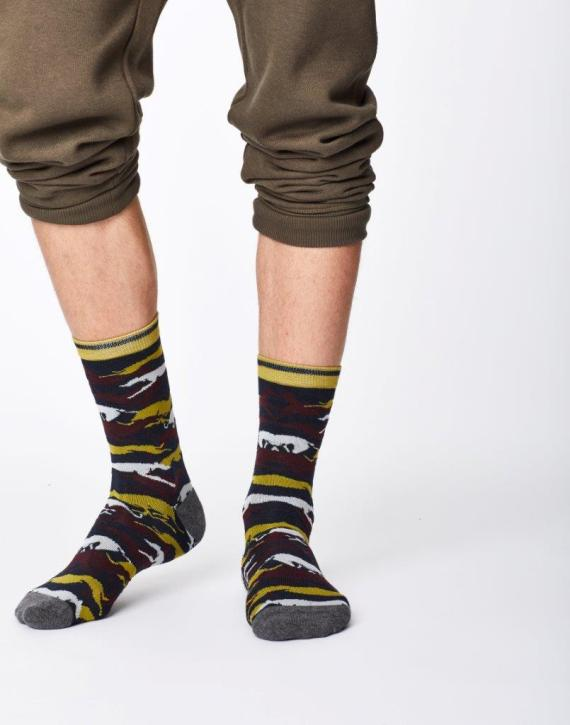 Thought Whippet Sock Navy