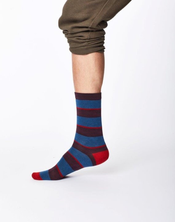 Thought Elfield Sock Blue