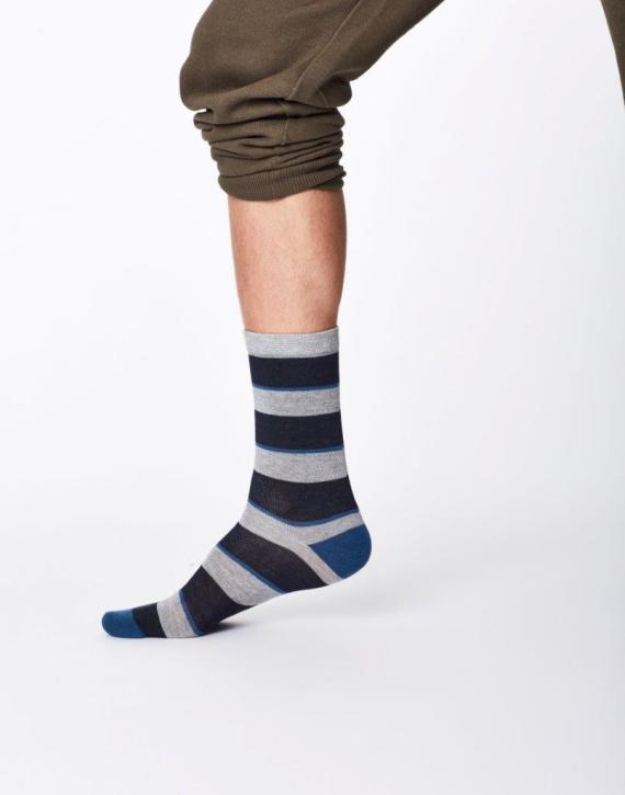 Thought Elfield Sock Navy