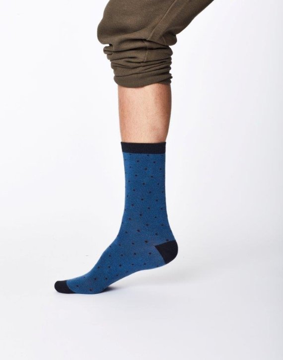 Thought Randall Sock Blue