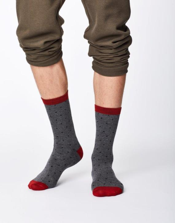 Thought Randall Sock Mid Grey