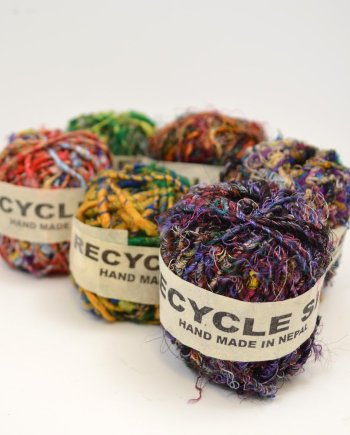 Ball of Recycled Silk