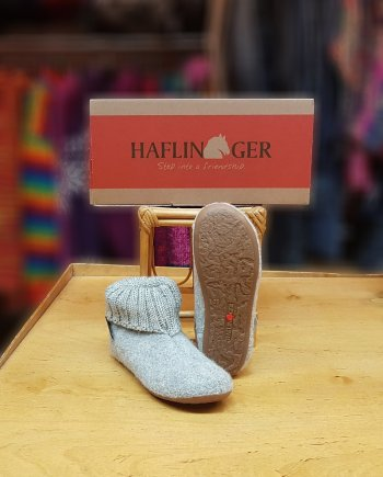 Haflinger Slipper Boot Karlo