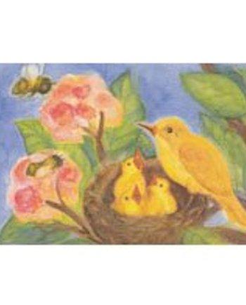 Birds Nest Card