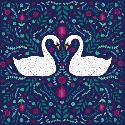 Swan Song Card