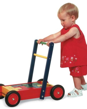 Baby Walker with Bricks by John Crane, wooden toys