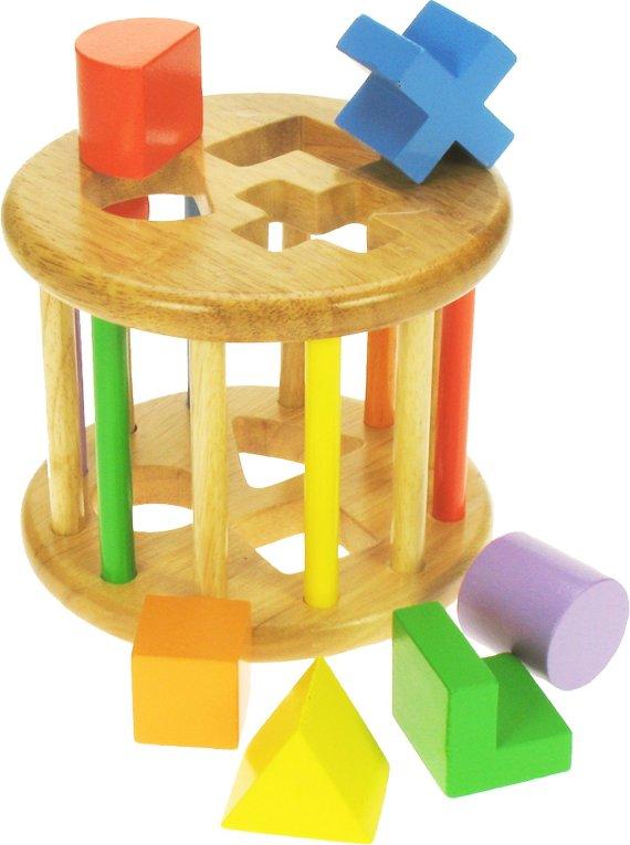 Rolling Shape Sorter by Bigjigs, wooden toys