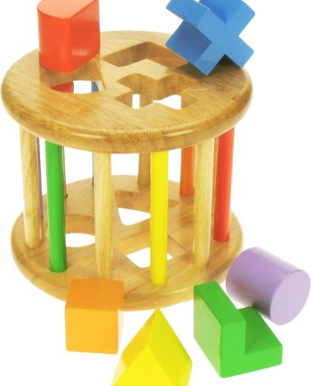 Rolling Shape Sorter by Bigjigs, wooden toys