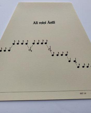 Ali Mini Antli Music Sheet