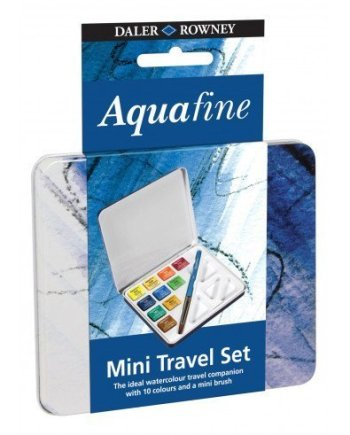 Lyra Aquafine 10 Colour Mini Travel watercolour Set
