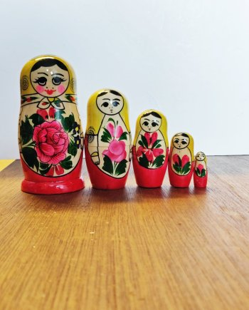 Matryoshka Doll - Red