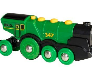 Big Green Action Locomotive by BRIO