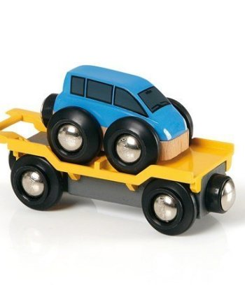 Car Transporter for Railway by BRIO