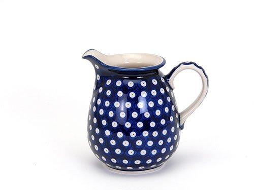 Blue Eyes Jug 1.1L, Polish Pottery Stoneware Ranges