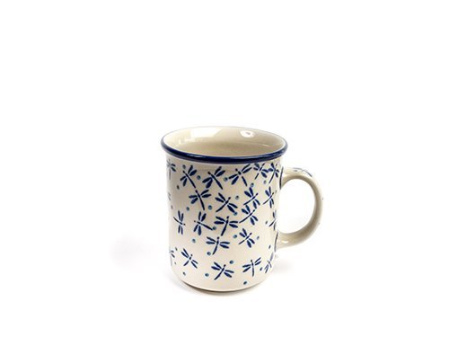 Dragonfly Everyday Mug, Polish Pottery Stoneware Ranges