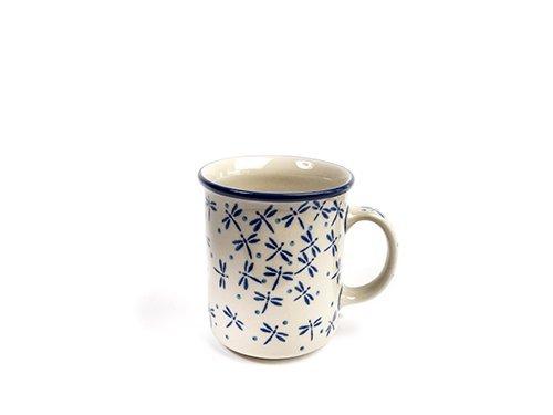 Dragonfly Everyday Mug, Polish Pottery Stoneware Ranges