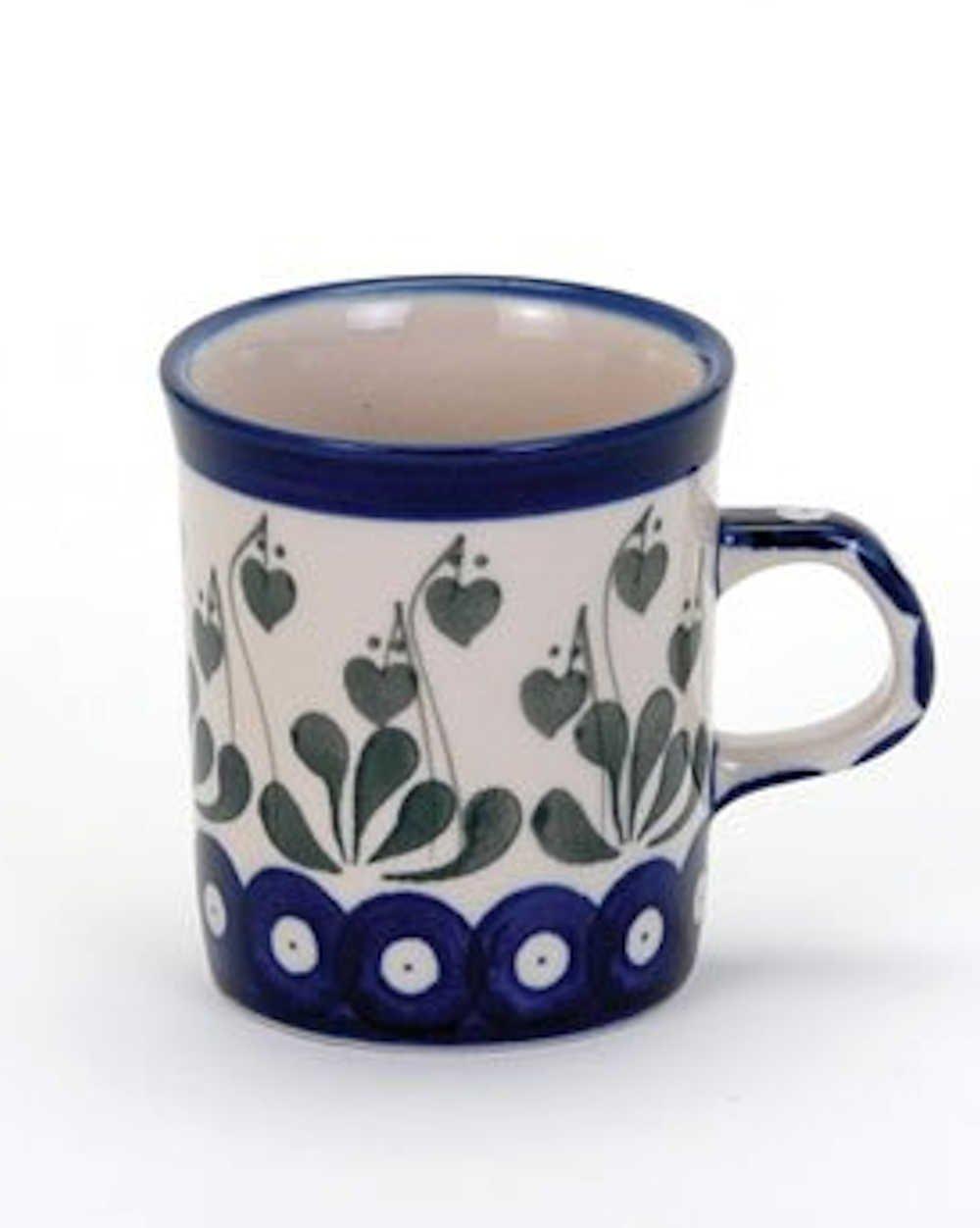 Love Leaf Mini Mug Stoneware By Artyfarty Salago Totnes
