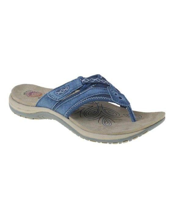 Earth Spirit Juliet Cobalt Blue Sandals