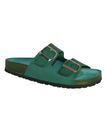 Oxygen Footbed Sandal Paris Green