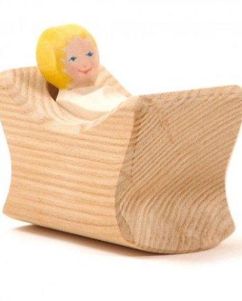 Ostheimer Child In Cradle
