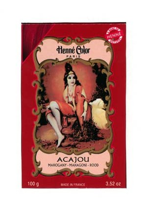 Henna Mahogany Colouring & Conditioning Powder