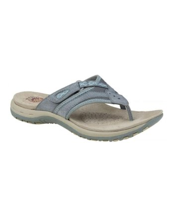 Earth Spirit Juliet frost grey toe post sandals