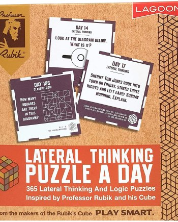 Rubik Lateral Thinking Puzzle A Day Deskblock