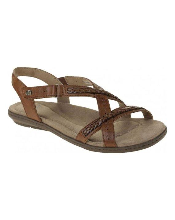 Earth Spirit Easton Ladies leather sandals Alpaca