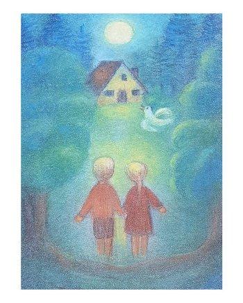 Hansel and Gretel Card
