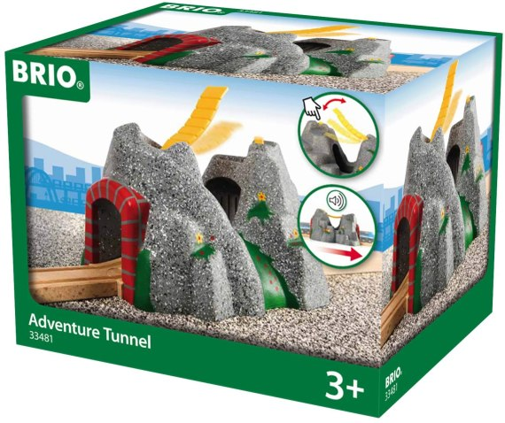 BRIO World Adventure Tunnel