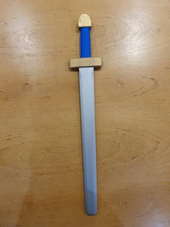 Blue Viking Sword