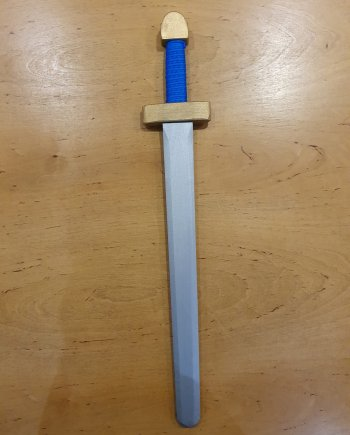 Blue Viking Sword
