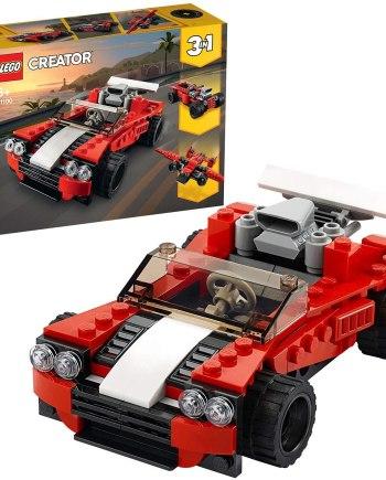 LEGO 31100 Creator 3 in 1 Sports Car - Hot Rod - Plane Building Set
