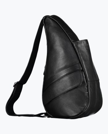 Leather Black Bag Small