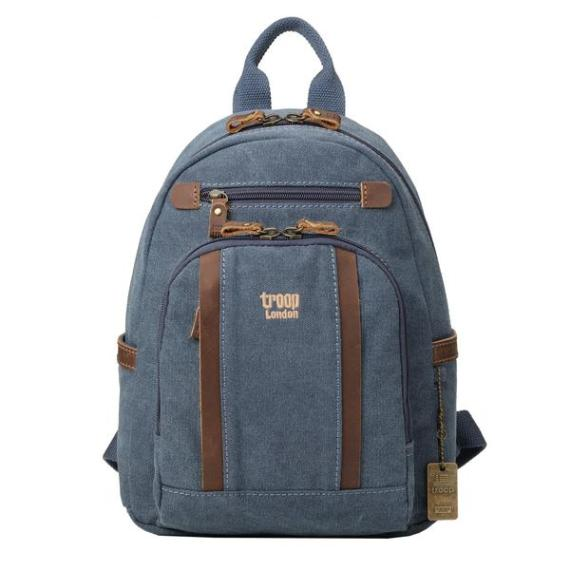 Classic Canvas Laptop Backpack TRP0255 by Troop London