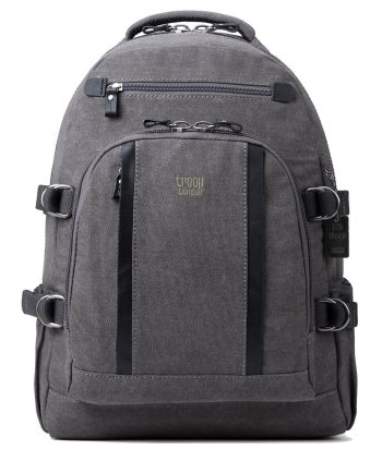 Troop London Classic Canvas Laptop Backpack TRP0257