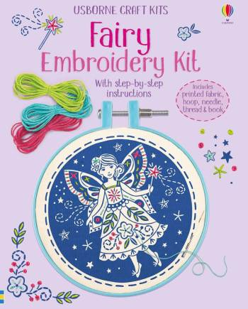 Fairy Embroidery kit Book